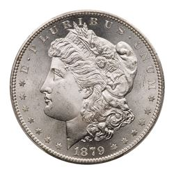 1879-S Morgan Dollar. Reverse of 1879. PCGS MS65