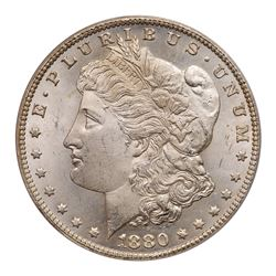 1880/79-CC Morgan Dollar. Reverse of 1878. PCGS MS64