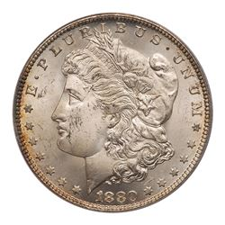 1880-CC Morgan Dollar. Reverse of 1879. PCGS MS64