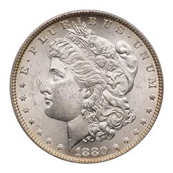 1880-O Morgan Dollar. PCGS MS63
