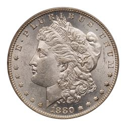 1880-O Morgan Dollar. PCGS AU58