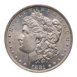 1881-O Morgan Dollar. PCGS MS64