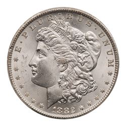 1882-CC Morgan Dollar. PCGS MS65
