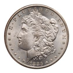 1883-CC Morgan Dollar. PCGS MS65