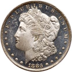 1883-O Morgan Dollar. PCGS MS66