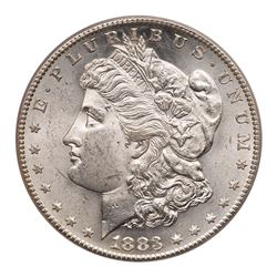 1883-S Morgan Dollar. PCGS MS63