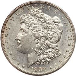 1883-S Morgan Dollar. PCGS AU55