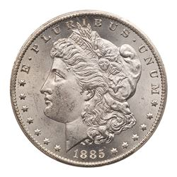 1885-CC Morgan Dollar. PCGS MS64