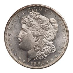 1885-S Morgan Dollar. PCGS MS64