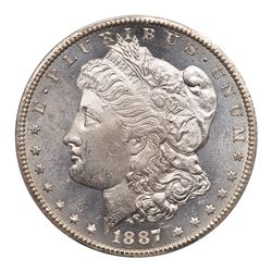 1887-S Morgan Dollar. PCGS MS63