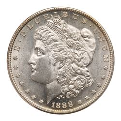 1888-S Morgan Dollar. PCGS MS63