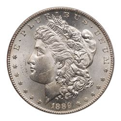 1889-S Morgan Dollar. PCGS MS63
