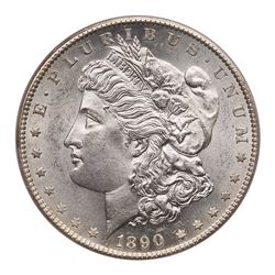 1890-S Morgan Dollar. PCGS MS63