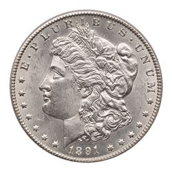 1891-CC Morgan Dollar. PCGS MS63