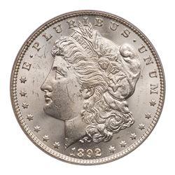 1892-O Morgan Dollar. PCGS MS64