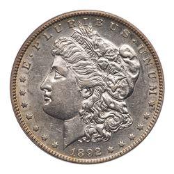 1892-S Morgan Dollar. PCGS AU50