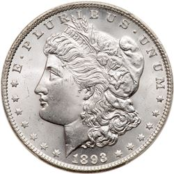 1893 Morgan Dollar. PCGS MS65