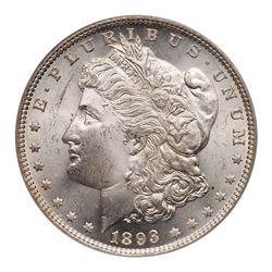 1893 Morgan Dollar. PCGS MS64
