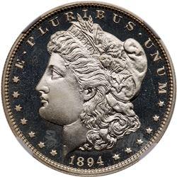 1894 Morgan Dollar. NGC PF67