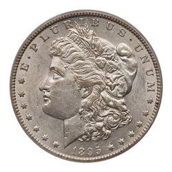 1895-O Morgan Dollar. PCGS AU55