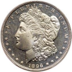 1896 Morgan Dollar. PCGS MS66
