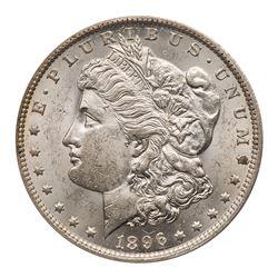 1896-O Morgan Dollar. ANACS MS61