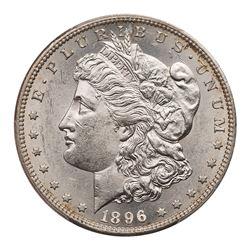 1896-S Morgan Dollar. PCGS AU58