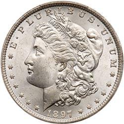 1897-O Morgan Dollar. PCGS MS64