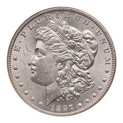 1897-O Morgan Dollar. NGC MS61