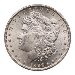 1897-S Morgan Dollar. PCGS MS64