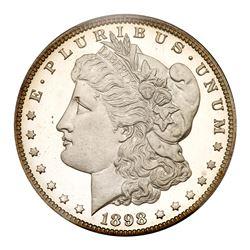 1898 Morgan Dollar. PCGS PF67