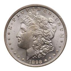 1898 Morgan Dollar. PCGS MS65