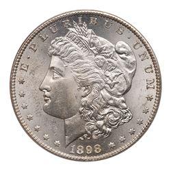 1898-S Morgan Dollar. PCGS MS63