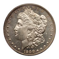 1900 Morgan Dollar. PCGS MS65