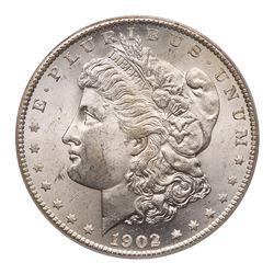 1902-S Morgan Dollar. PCGS MS64