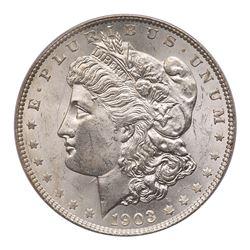 1903-O Morgan Dollar. PCGS MS63