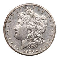 1903-S Morgan Dollar. PCGS AU55