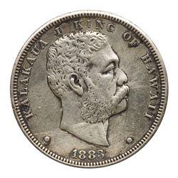 Hawaii. Dollar, 1883. VF