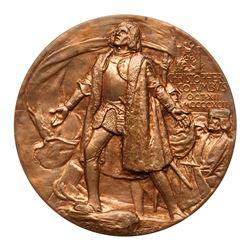 1892 Official Columbian Exposition Award Medal - Hoffman, Ahlers & Co. Eglit-90, Bronze. Brilliant U