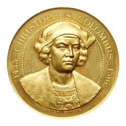 1892-93 Columbian Exposition - Massonet Medal. Eglit-99, Bronze, Brilliant Proof-like.