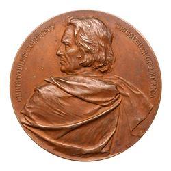 1893 Columbian Exposition - Lauer Medal. Eglit-117, Bronze. Uncirculated