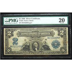 1899, $2 Silver Certificate
