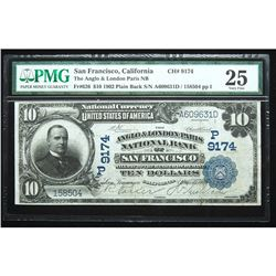1902, $10 National Bank Note