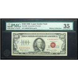 1966, $100 Legal Tender Note