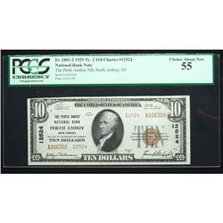 1929, $10 National Bank Note