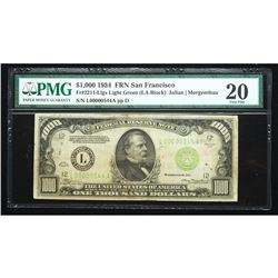 1934, $1000 Federal Reserve Note