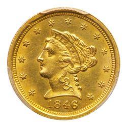 1846-O $2.50 Liberty. PCGS MS61