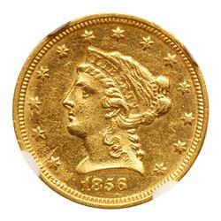 1856-C $2.50 Liberty. NGC MS61
