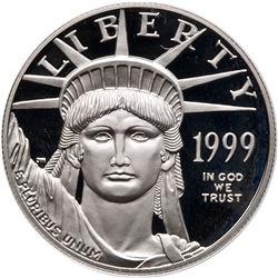 1999 $100 American Platinum Eagle