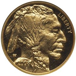 2008-W $5 American Gold Buffalo. NGC PF69